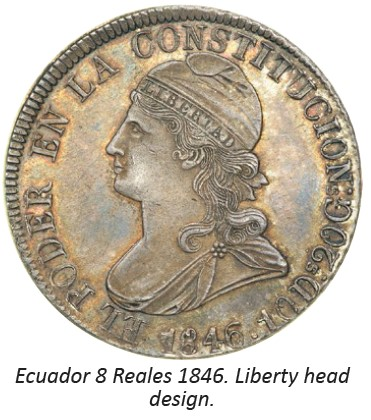 equador lib head Collecting The Coins of Ecuador