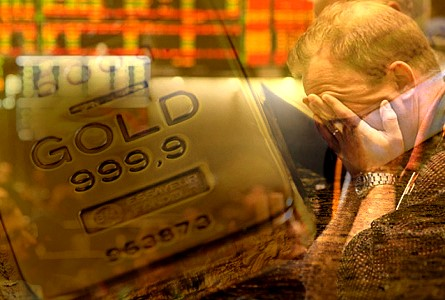 Gold Took Off When Lehman Melted Down