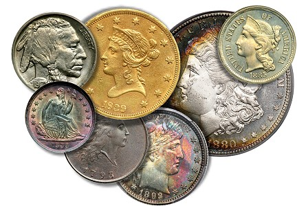 Goldbergs Coin Auction Offered Wide Variety of Coins Before Autumn Long Beach Expo
