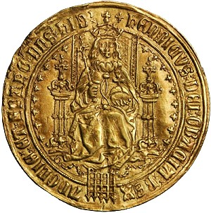 gr sov 3 Rare & Historically Important English Gold Sovereigns of King Henry VII