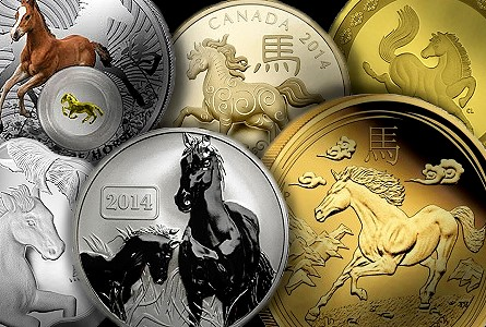 horse coins The Coin Analyst   Modern World Coins: Will Lunar Horse Coins Perform More Like Dragons or Snakes?