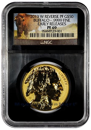 mcm buf1 Stampede of Buffalo Gold Coins