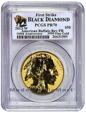 mcm buf2 Stampede of Buffalo Gold Coins