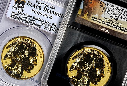 Stampede of Buffalo Gold Coins
