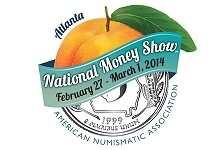 Free admission during final day of ANA's  2014 National Money Show in Atlanta