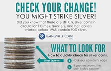 InfoGraphic: Check Your Change: You Might Strike Silver