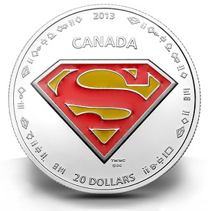 sm3 Canadian Mint Unveils Coins Fit for the Ultimate Superhero: SUPERMAN ™