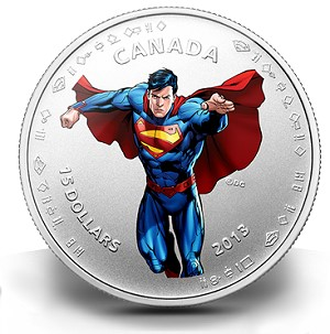 sm5 Canadian Mint Unveils Coins Fit for the Ultimate Superhero: SUPERMAN ™