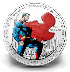 sm6 Canadian Mint Unveils Coins Fit for the Ultimate Superhero: SUPERMAN ™