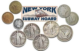 subway hoard Coin Collecting Perspectives:  Flooding the Market..... Coin Hoards