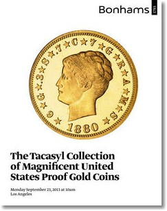 tacasyl gold Tacasyls Gold Collection of 27 Proof Gold Coins to Bring Up to $9 Million at Bonhams. VIDEO: 3:04