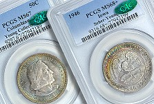 GreatCollections to Auction Young Collection of US Commemorative Coins