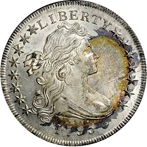 1795 dollar newman Numismatic world riveted by Eric P. Newman Coin Collection Part II, Nov. 15 16 in New York