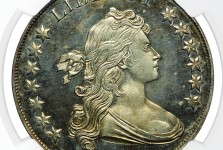 NGC Certifies Extremely Rare Proof 1801 Bust Silver Dollar