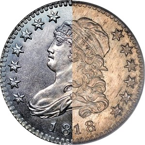 1818 25c thumb The Fabulous Eric Newman Collection, Part 4: Proof 1818 Quarter