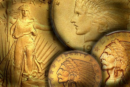 Sandblast 'Matte Proof' Gold Coins: Original 1912 Set auctioned during Autumn Long Beach Expo