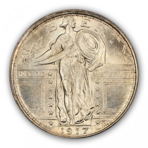 1917 stand lib kd Collecting Insights for the Standing Liberty Quarter Series  Part 2