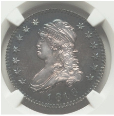 ReducedSquare7 The Fabulous Eric Newman Collection, Part 4: Proof 1818 Quarter