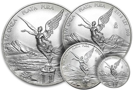 fractional libertad LOW MINTAGES, LOW PRICES: Fractional Mexican Silver Libertads