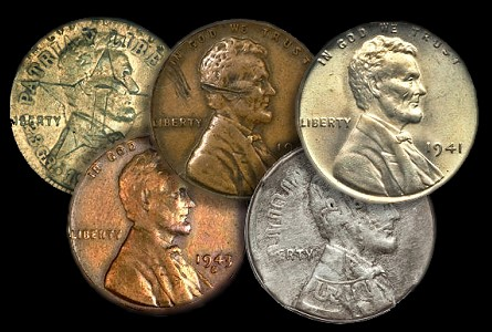 The Geyer Collection of World War II era Mint Error Coins