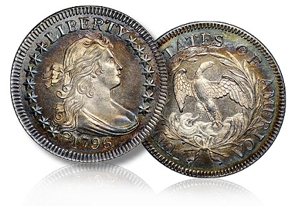 newman 1796 25c 67 The Fabulous Eric Newman Coin Collection, part 3: Draped Bust Quarters