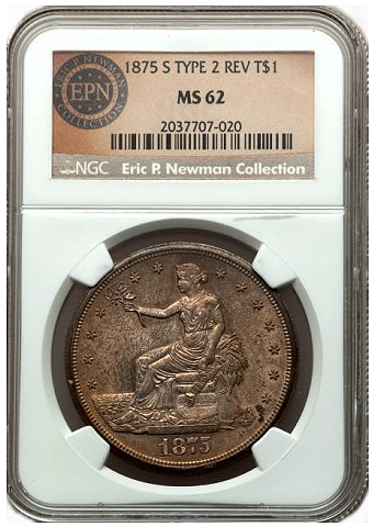 newman 1875 tdol dw Rare Coin Auctions: First Impressions of the Newman Sale