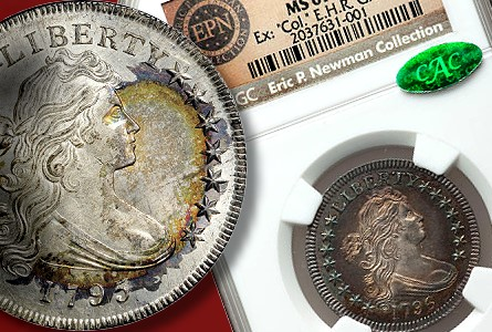 Numismatic world riveted by Eric P. Newman Coin Collection Part II, Nov. 15-16 in New York