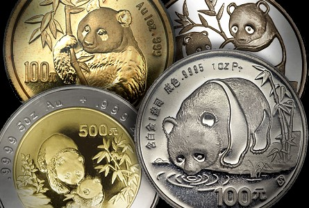 Chinese Coins: Pandas, The Melting Pot