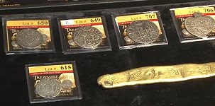 Upcoming Sedwick Treasure Auction to Feature Coins, Ingots, and Artifacts. VIDEO: 2:24.