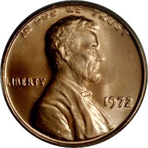 small cents 1972DD Coin Collecting Strategies: Building the Ultimate 20th Century Type Set, Part 1: Small Cents
