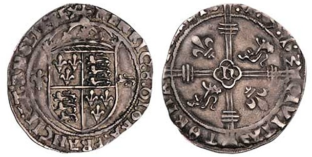 1513 groat b 500th Anniversary  of The Earliest Dated English Coin: the 1513 Tournai Groat
