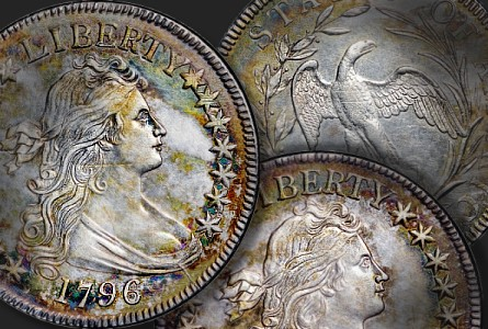 1796 50c thumb The Fabulous Eric Newman Coin Collection, part 5: 1796 U.S. Half Dollars