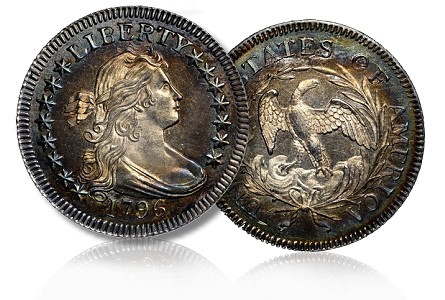 1796 newman 25c NGC Certified Eric P. Newman Coin Collection Part II Tops $23 Million at Heritage Auction
