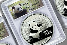 Modern Coins: The 2014 Silver Panda coins are Here!