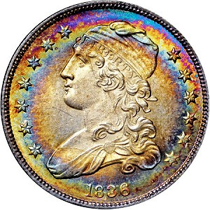 en2 5 The Fabulous Eric Newman Collection, part 6:  Auction Results for silver U.S. Coins