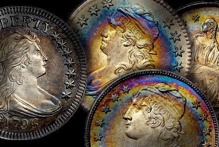 The Fabulous Eric Newman Collection, part 6:  Auction Results for silver U.S. Coins