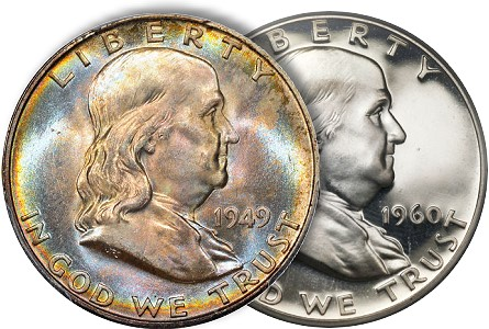 The Short-Lived Franklin Half Dollar
