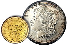 High-grade 1893-S Morgan Dollar realizes $235,000 to lead Heritage Auctions' $11.3+ million U.S. coin event in New York
