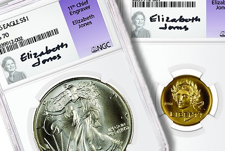 NGC and Former US Mint Chief Engraver Elizabeth Jones to Launch Signature Label Series