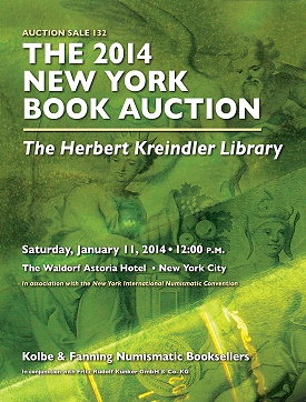 kf 2014 book auction 2 Kolbe & Fanning Announce 2014 New York Book Auction