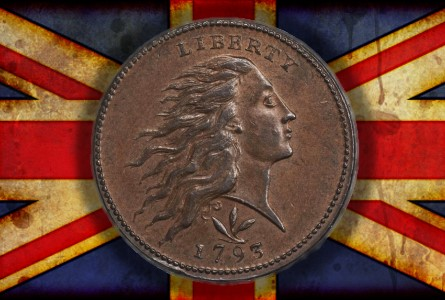 1793 Wreath Cent Emerges in England