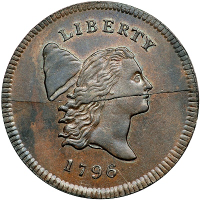 1796 nopole hc The Missouri Half Cent Collection Part 1: Tettenhorst 1796 'No Pole' Liberty Cap