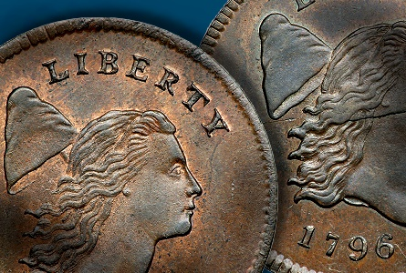 The Missouri Half Cent Collection Part 1: Tettenhorst 1796 'No Pole' Liberty Cap
