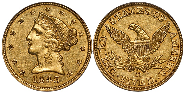 1843d 5 Coin Collecting Strategies: Some Thoughts on Rarity