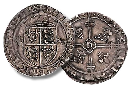 500th Anniversary  of The Earliest Dated English Coin: the 1513 Tournai Groat