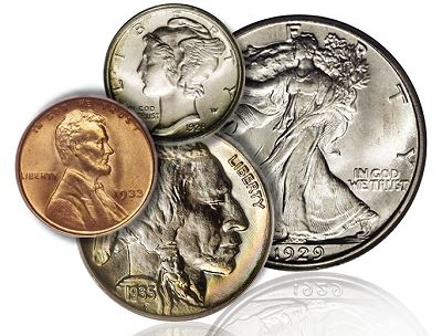 Modern Coins Minted After 1934 tend to be Very Common, 1793 to 1933 is the Classic Era – Part One