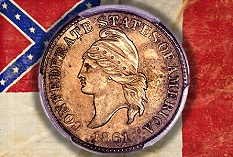 1861 Confederate States of America Cent