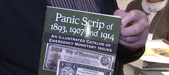 panic scrip Paper Money: Book Released at PCDA Convention on Panic Scrip. VIDEO