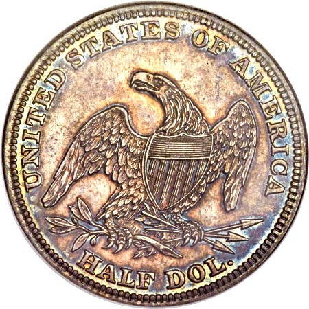 1838 O ngcpr64 FUN2014 rev Eliasberg 1838 O Half Dollar and the Controversy over its origins