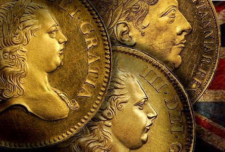 Brit patterns sb thumb British Gold Patterns star in World Coin Auction